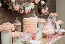 Lovely Pink Theme set up by Sweet Nest Events