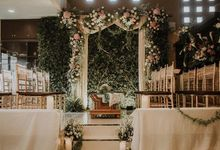 Zikra & Ridha Engagement by Artsy Design