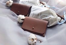 Jie & Ivanna - Leather Passport Case by Rove Gift