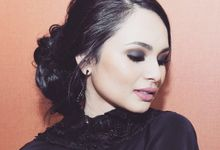 Wedding Solemnization Hairstyles by Chez Hamdan