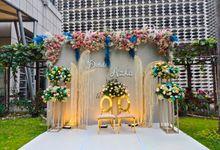 Dinda and Azka Wedding 12 September 2021 by Financial Club Jakarta