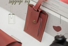 Luggage Tag by McBlush Merchandise Service by Mcblush Merchandising Service