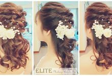 Bridal Hair By Elitemakeupartistsinc by elitemakeupartistsinc