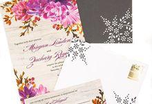 Dark grey A7 hand designed envelopes by Lovely Designs