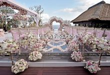 Love Is Pink For Bvlgari Wedding by Marlyn Production
