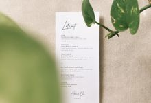 Adrian & Devi by Peony and Brides Invitation