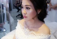 test makeup to wedding day mrs Vania by makeup by shinshin