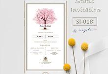 E-Invitation |  Undangan Pernikahan | Kode SI-018 by ANYELIR STUDIO
