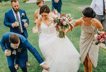 Pandawa Cliff Estate Wedding of Danielle & Adam by Leura Film