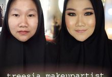 Portfolio by Treesia Makeup Artist