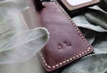 Jemmy & Lala - Leather Luggage Tag by Rove Gift