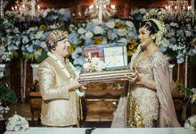 Billingual Wedding of D & E by MC Faiz