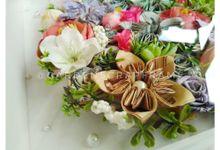 MAHAR BOUQUET - FEBRI & JOKO by Garden Scrapframe