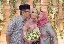 Engagement Day of Rani and Rizki by Alfka Photography