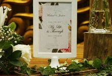 MICHAEL & JESSICA at kembang goela by Priceless Wedding Planner & Organizer