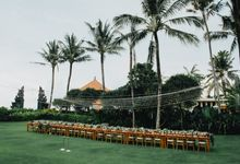 Canggu Garden Wedding with Tropical Vibe by DIJON BALI CATERING