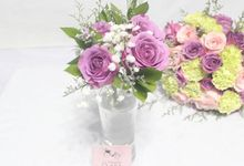 Hand bouquet by La Fleuriste Clara