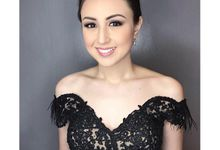 A Classic Black Gown by Steph Tan Couture