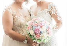Harriette & Fritz Wedding by Suzane Calero - Professional Hair and Makeup