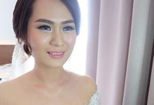 Fenny &  SIEWIN  WEDDING by Marsia Yulia Signature. Natural and Korean Make Up Specialist.
