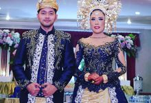 Minang's Wedding With Lovely Blue by Didadeux Wedding House