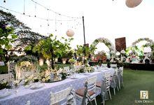 The Wedding of Sutanto & Agatha by Eden Design