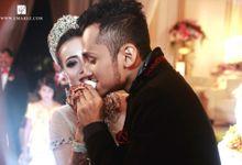 The wedding of Hiromi and Reza by umarez