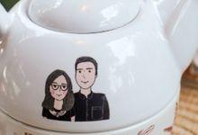 Tekosusun Wedding Character by Mug-App Wedding Souvenir