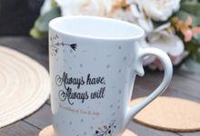 Wedding Desi & Avip by Mug-App Wedding Souvenir
