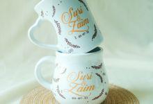 Suri & Zaim by Mug-App Wedding Souvenir
