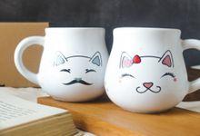 Happy Meowied by Mug-App Wedding Souvenir
