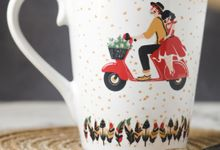 Mug V by Mug-App Wedding Souvenir