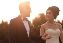 Park Bum Jin & Ghea Wedding by Louislim photography