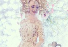 Beautiful Minang Bride and Groom of Echa and Harya by Didadeux Wedding House
