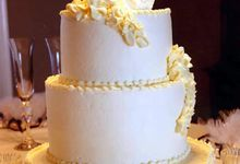 3 layers wedding cakes by LeNovelle Cake