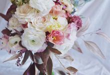 Bridal Bouquet by Flowers and Fables
