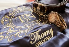 The Blooming Wedding of Thomy and Nelly by Pizzaro Sensation Design