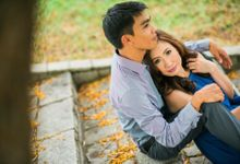 Jocyl & Lenard Engagement Session by Carlos Durana Make-up Studio