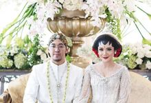 WED CEREMONY FITRI AYU & KENJI by Chandani Weddings