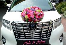 The Wedding of Adi & Icha by Priority Rent car