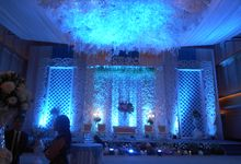 Wedding decor for friska and andhika by Dian Decoration