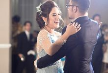 WED RECEPTION OF FITRI AYU & KENJI by Chandani Weddings