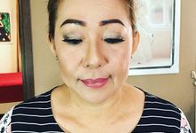 Mature makeup by ICA Make Up Artist