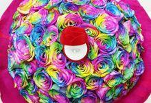 Over the Rainbow by Roseveelt Florist