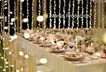 Romantic Sky Garden Áyana Wedding by Marlyn Production