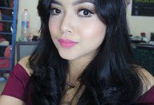 party makeup by kintan yulita