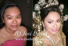 Before & after by Josi David Professional & Wedding Make up Artist