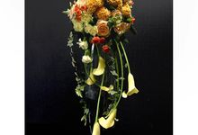 Cascade Bridal Bouquet by Esme Floral Artistry