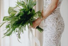 Tropical Wedding Vibe by WiB flowers