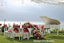 Colorful Wedding At Ayana Villa Wedding by Marlyn Production